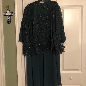 Plus size formal dress size 20